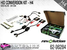 HID CONVERSION KIT 24 VOLT H4 GLOBES HIGH/LOW 35 WATTS SUIT CAR 4WD TRUCK