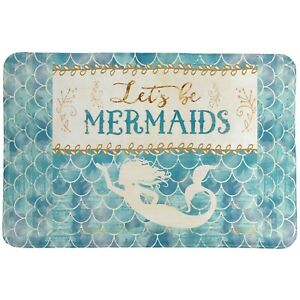 Lets Be Mermaids Memory Foam Rug
