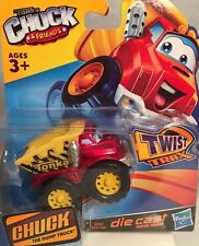 "New Tonka Chuck & Friends ""Chuck"" die cast truck for use with Twist Trax Hasbro"