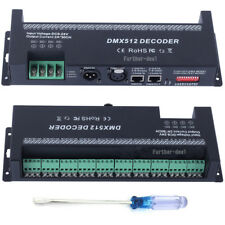 30 channel DMX 512 RGB LED strip controller dmx decoder dimmer driver DC 9V-24V