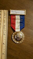 1949 VFW MEDAL BADGE RIBBON Veteran Foreign Wars 29TH ANNUAL HARTFORD CONN.