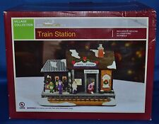 Christmas Village~Train Station~Forever Gifts~AC Moore~NEW!