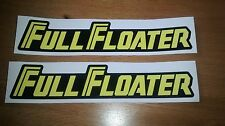 Full Floater Swing Arm Sticker Decal - Suzuki RM 125 250 500 1984-85