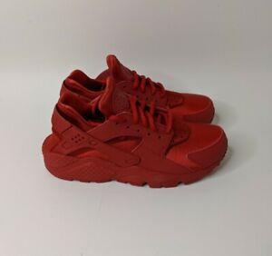 Nike Air Huarache Run Womens 634835-601 Gym Red Athletic Running Shoes Size 7