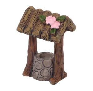 Fairy Garden Flower Wishing Well