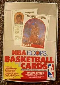 1989-90 HOOPS NBA BASKETBALL SERIES 2 BOX    ROBINSON RC ROOKIE  JORDAN