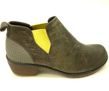 Keen Morrison Chukka US 7 EU 37.5 Ankle Boot Grey Yellow Womens Bootie New