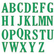 5CM Large Big Alphabet Letters Cutting Dies Stencils Steel DIY Scrapbooking RO