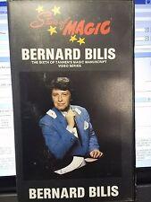 STARS OF MAGIC BERNARD BILIS TANNEN'S MAGIC MANUSCRIPT VIDEO VHS SERIES