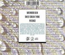 Guns n' Roses November rain (1992) [Maxi-CD]