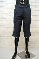 NORTH SAILS Bermuda Uomo Jeans Taglia 42 Pants Pantalone Corto Shorts Cotone Blu