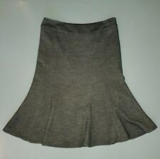 PHASE EIGHT ~ BLACK & WHITE FISHTAIL PENCIL KNEE LENGTH SKIRT~ SIZE 10 ~ VGC
