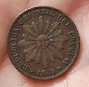 1 centesimo Uruguay 1869