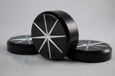 Fork Cap and Stem Nut Covers Kawasaki Mean Streak 1500 &1600 Black Star Cut