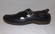 Timberland Sandal Mule Loafer Clog Smart Comfort Black Leather Flat Slipon 8.5