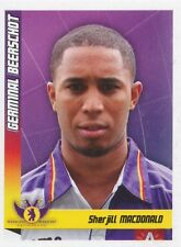 N°218 SHERJILL MACDONALD # GERMINAL BEERSCHOT STICKER PANINI FOOTBALL 2011