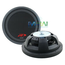 "ALPINE SWR-T10 10"" SHALLOW-MOUNT TYPE-R SLIM CAR SUBWOOFER SUB WOOFER 600W RMS"
