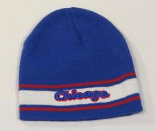 Colosseum Athletics Chicago Blue White & Red Beanie Skull Cap Adult One Size NEW