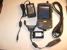 SYMBOL MOTOROLA MC7596-PYCSKQWA9WR 1D BARCODE SCANNER GSM CELLULAR QWERTY CAMERA