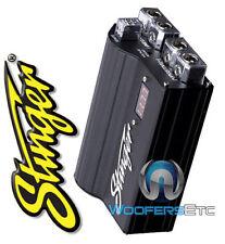 stinger car audio capacitors stinger spc505 new 5 farad digital pro hybrid power car audio capacitor spc 505