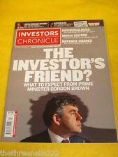 INVESTORS CHRONICLE - PRIME MINSTER GORDON BROWN - MARCH 30 2007