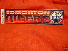 Edmonton Oilers NHL Team Logo Bumper Sticker