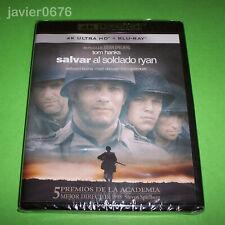 SALVAR AL SOLDADO RYAN 4K ULTRA HD + BLU-RAY NUEVO Y PRECINTADO TOM HANKS