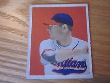1949 Bowman Dale Mitchell Cleveland Indians #43 Sharp Color