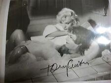 Tony Curtis autographed Monroe  photo  with COA