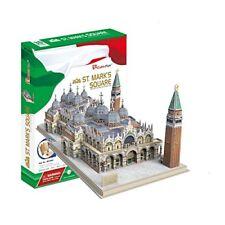 Cubicfun Modellino da costruire Piazza San Marco Venezia in Puzzle 3d