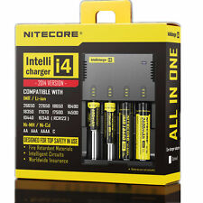 Nitecore I4 Intellicharge Universal Battery Charger F/ CR123A 26650 18650 AA/AAA