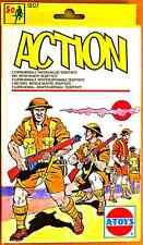 "ESCI ATOYS #1207 - 1/72 WW2 British Infantry - ""Desert Rats"" - mint boxed set"