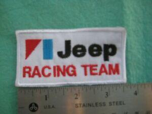 Jeep Racing Team Service Parts Dealer   Uniform Patch