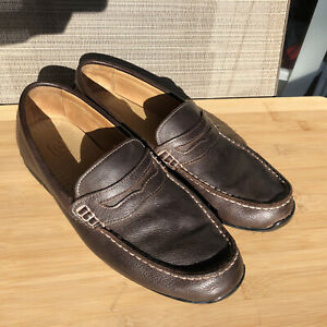 FootJoy Mens Club Casuals Penny Loafers Brown STYLE 79064 Mens Size 9.5 Foot Joy