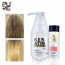 Brazilian Keratin 12% Formalin Hair Straightening Treatment + Purifying Shampoo