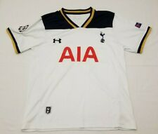 Under Armour Tottenham Hotspurs Soccer White AIA Jersey Kane #10