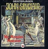 """Preisalarm! * HÖRSPIEL CD * JOHN SINCLAIR """"Mr. Mondos Monster"""" 34 * (T1) NEU/OVP"""