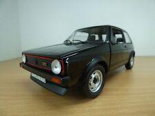 VOLKSWAGEN GOLF GTi 1600 série 1 noir 1/18