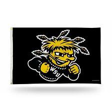 Wichita State Shockers Banner Flag. 3' x 5'. Grommets.  #673