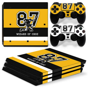 PS4 Pro Playstation 4 Console Skin Decal Sticker Sid Pittsburgh Custom Design