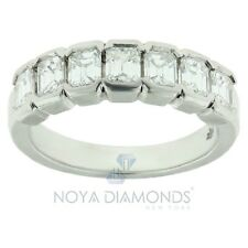 1.75 Carat F Vs1 Emerald Cut Diamond Wedding Band Set In Platinum 950