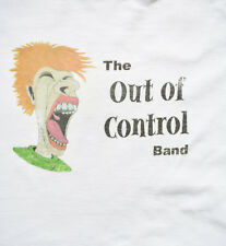 The Out of Control Band Mens T-Shirt XL OCC Make You Puke White Short Sleeve