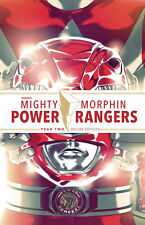 Mighty Morphin Power Rangers HC Year Two Deluxe Hardcover Graphic Novel