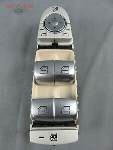 Mercedes Benz C300 Power Master Window l Switch Left OEM Sdn 15 18 A2229056800