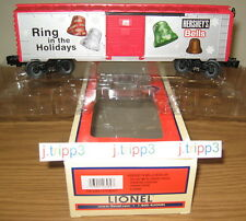 LIONEL 6-26489 HERSHEY'S CHRISTMAS BELLS CHOCOLATE HOLIDAY BOXCAR O GAUGE TRAIN