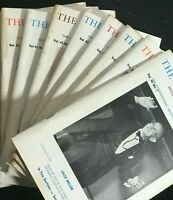 Lot of 10 THE LINKING RING Magic Magazines - 1963 (all months except Mar & Dec)