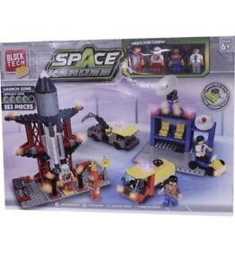 Block Tech Space Heroes Rocket Building Set Kids Construction Playset LEGO