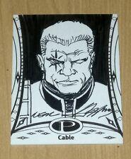 2014 Upper Deck UD Marvel Premier sketch card Neal Adams CABLE #23