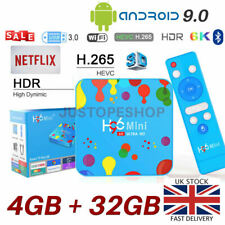 2020 H96 Mini Quad Core 4GB+32GB Android 9.0 TV Box 5Ghz Dual WIFI Bluetooth 5.0