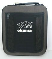 OKUMA LARGE Fishing Binder Tackle Bag Case Accessory 10 Wormproof Pages Molded